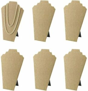 7th Velvet 1 12 5inches Necklace Display Stand Easel Jewelry 1 Only