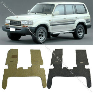 For 1991 1997 Toyota Land Cruiser Lc80 4500 Floor Mat Carpet Protection 3pcs