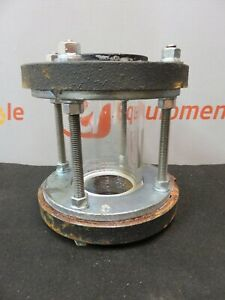 Dwyer W e Anderson Sfi 400 Sight Flow Indicator Cast Iron Tube Viewing