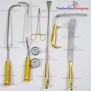 New Breast Surgery Instruments Set Of 8 Pcs Plastic Surgery