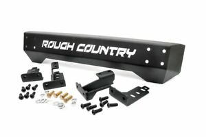 Rough Country Front Stubby Bumper For 1987 2006 Jeep Wrangler Tj Yj 1011