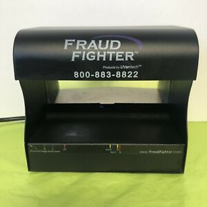Counterfeit Detection Scanner Fraud Fighter By Uveritech Model Uv 16