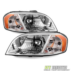 2007 2011 Chevy Aveo Sedan 07 09 Pontiac Wave Headlights Headlamps Left Right