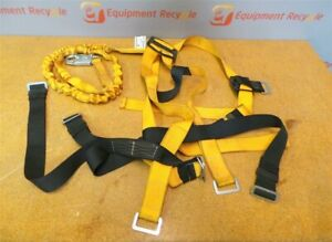 Miller Titan Full Body Harness Lanyard Fall Safety Protection