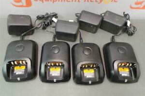 Motorola Charger Base Station Wpln4243a Rapid Charger 2 way Radio Lot Of 4