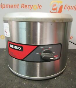 Nemco 6101a 046 Counter Top Round Warmer Soup Food 750 Watts