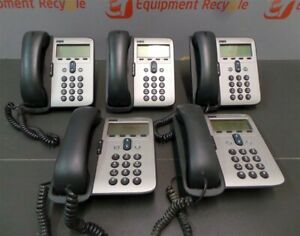 Cisco 7912 Ip Business Office Phones Lot Of 5