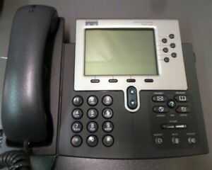 Cisco Ip Business Office Phone 6 Line 7960 Series Voip Phones Lot Of 6