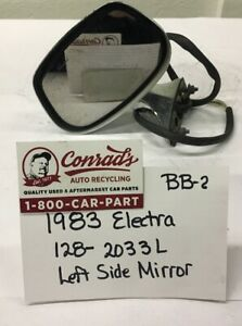 Used Vintage Buick Electra 1983 Left Side View Mirror Drivers Quality