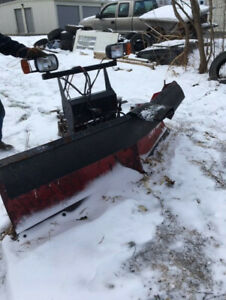 Boss Snow Plow Power V Dxt 8 2 Blade With Wings