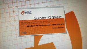 Quinton Q Stress Tower xp Or Vista Hasp Required Warranty Software Loaded Cpu