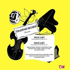 Augustin Duques - Mozart: Clarinet Quintet In A Major K.581 - Horn [New CD] Rmst