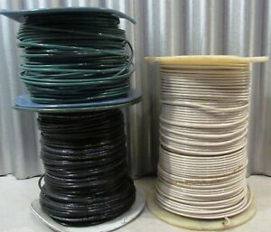 12 Thhn Solid Wire Black White Green Partial Rolls 937 Feet Total