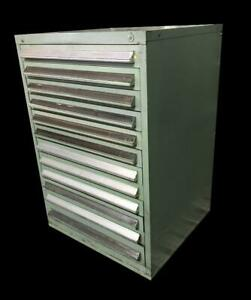 Stanley Vidmar 12 Drawer Industrial Tool Cabinet 30 X 27 5 X 44