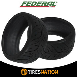 2 New Federal 595rs rr 235 45zr17 Tires