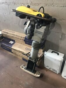 Wacker Neuson Jumping Jack Tamper Narrow Foot Pad With Extention