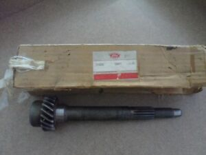 Ford Tractor 5 Speed Transmission Input Shaft Part 311256 1958 59 nos