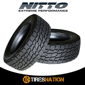 2 New Nitto Terra Grappler G2 295 70 17 121 118r All Terrain Tire