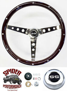 1969 1973 Camaro Chevelle El Camino Steering Wheel Ss 15 Classic Wood
