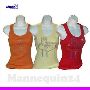 Mannequin Female Torsos Lot Of 3 White Plastic Hanging Body Forms With Hanger