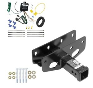 Trailer Tow Hitch For 18 20 Jeep Wrangler Jl Sahara Rubicon Only W Wiring Kit