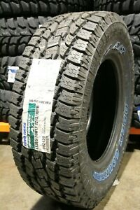 2 New Toyo Open Country A t Ii 121s 50k mile Tires 2657017 265 70 17 26570r17