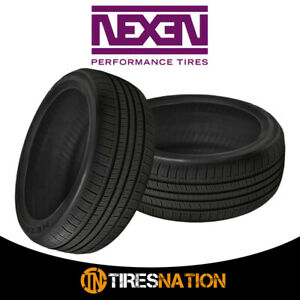 2 New Nexen N priz Ah5 215 75 15 100s Standard Touring All season Tire