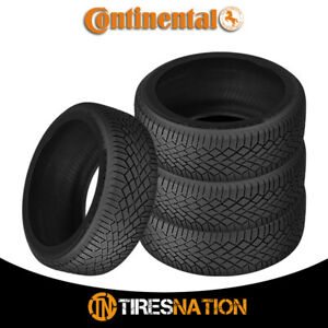 4 New Continental Viking Contact 7 215 45r17 Xl 91t Fr Tires