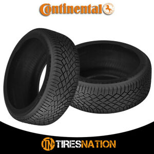 2 New Continental Viking Contact 7 215 45r17 Xl 91t Fr Tires