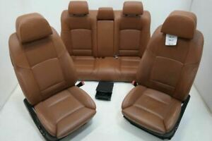 10 12 Bmw 750li Front Left Right Bucket Seats Rear Left Right Seats Leather