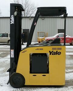 Yale Model Esc040fa 2008 4000 Lbs Capacity Great Electric Docker Forklift