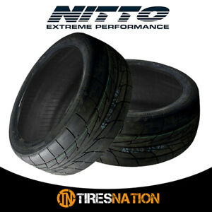 2 New Nitto Nt555r Extreme Drag 305 35 18 101y Track Performance Tire