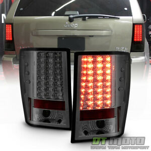 2007 2010 Jeep Grand Cherokee Lumiled Smoked Led Tail Lights Left right