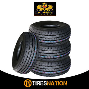 4 New Lionhart Lh htp 215 75r15 100t Highway All Season Tires