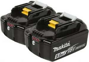 Makita 18 Volt Lithium ion Power Tool Battery 6 Ahr Capacity 55 Min Charge T