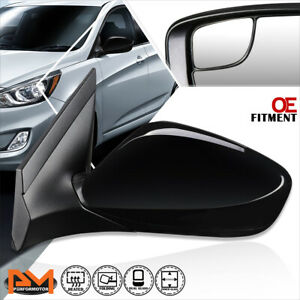 For 14 17 Hyundai Accent Oe Style Powered heated Side Rear View Mirror Left Lh