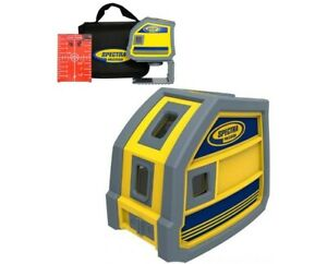 Spectra Precision Lp51 5 point Red Beam Laser Level