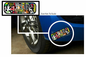 X2 Bomb Bandage Sticker Decal Oops Boo Boo Scatch Funny Jdm 16 Long