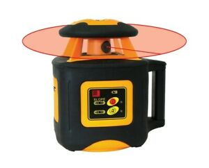 Johnson Level Self leveling Horizontal Rotary Laser W Receive Remote Control