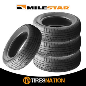4 New Milestar Weatherguard Aw365 205 60 16 96h Passenger All weather Tire