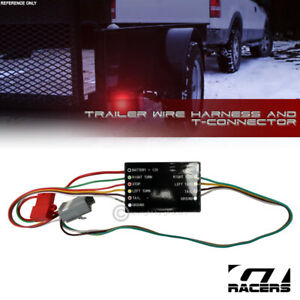 For 2008 2019 Toyota Highlander Trailer Hitch 4 Way Wire Harness T Connector Kit