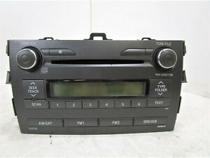 11 12 2011 2012 Toyota Corolla Cd Wma Mp3 Player Radio Stereo Receiver Oem