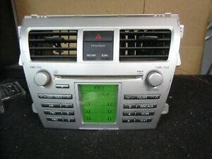 06 07 08 2006 2007 2008 Toyota Yaris Radio Cd Player Stereo Receiver 86120 52690