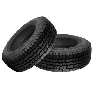 2 New West Lake Sl369 All Terrain 235 75 16 112s Off Road Tire