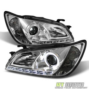 For 2001 2005 Lexus Is300 Led Drl Running Halo Projector Headlights Left Right