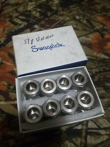 Swagelok Tube Fitting Union 5 8 In Tube Od Ss 1010 6 Box Of 8