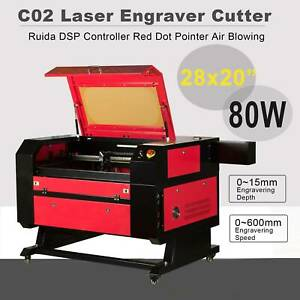 80w Laser Engraver Cutter Engraving Cutting Machine 20x28 Usb U flash And Pc