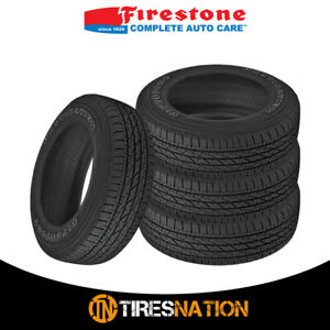 4 Firestone Destination Le 2 235 75r16 109t All Season Performance Tires