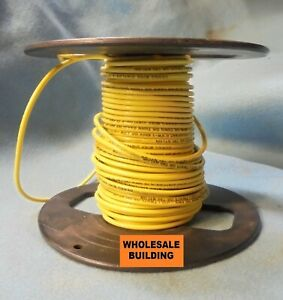 Cerro Wire 12 Standed 50 Ft Thin 12awg 600 V Yellow