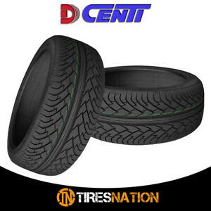 2 New Dcenti D9000 275 25 28 100y All season High Performance Tire